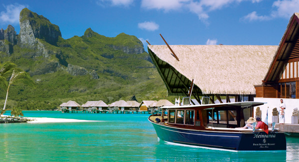 Bora Bora Four Seasons Launch