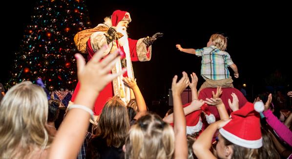Cayman Islands Christmas Santa