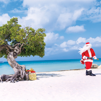 Aruba Saint Nick On The Beach