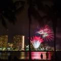 Oahu Waikiki Fireworks