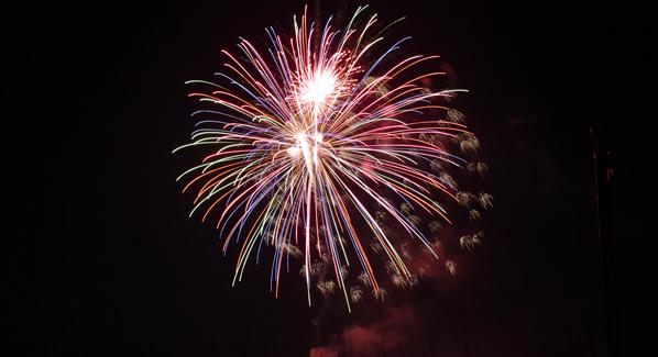 New Years Eve Fireworks Panama City Florida