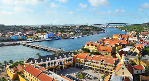 Juliana Bridge Anna Bay Curacao