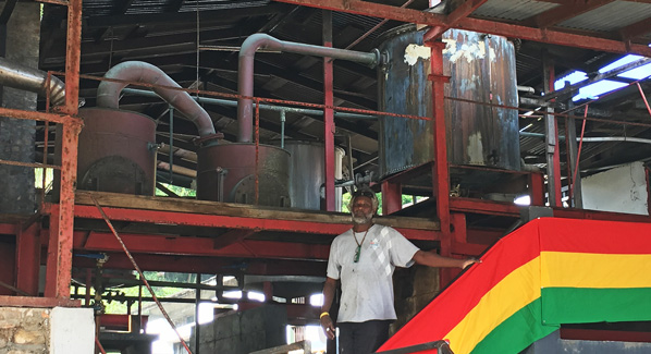 Rum Distillery Grenada