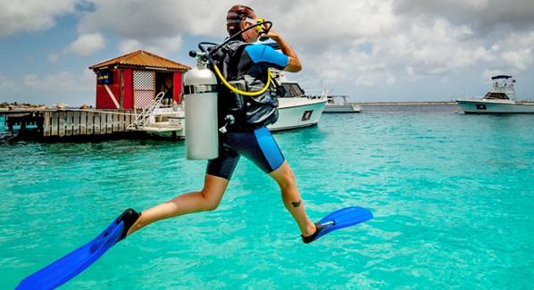 Diving Captain Dons Habitat