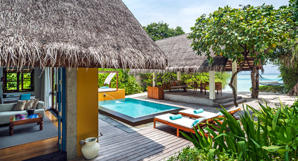 Maldives Four Seasons Bungalow