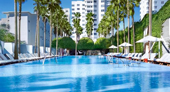 Delano Pool Miami
