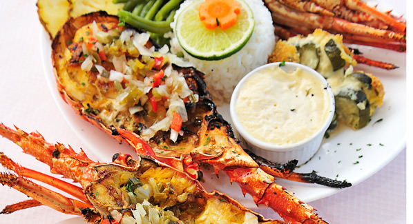 Guadeloupe Creole Lobster