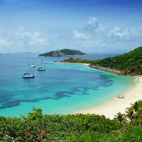 British Virgin Islands Peter Island
