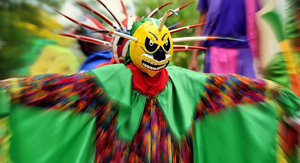 Puerto Rico Loiza Mask