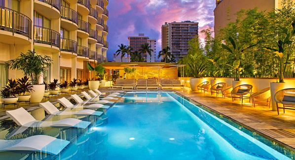 Laylow Pool Oahu