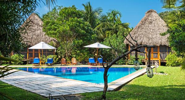 Turtle Inn Pool Belize