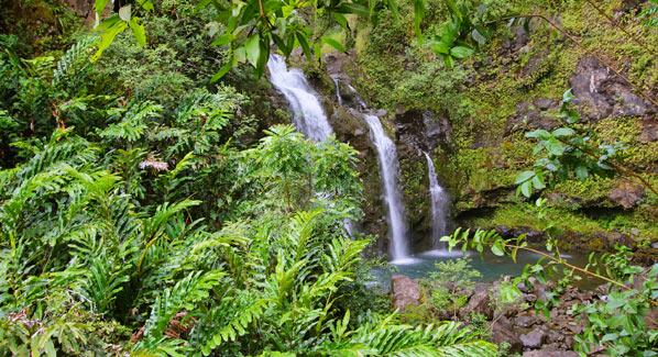 Maui Three Bears Falls