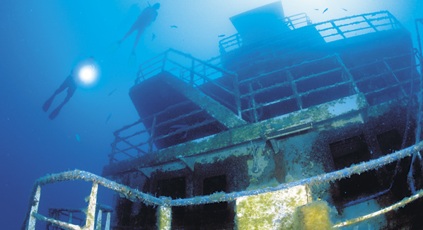 Anthony's Key Resort Ship Wreck Dive