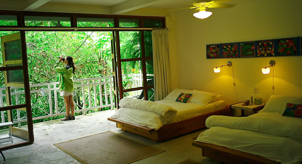 Canopy Lodge Bird Watching Rooms