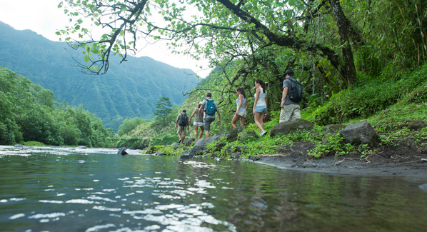 Tahiti Hike