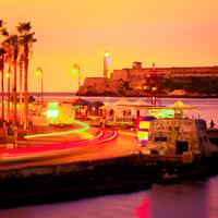 Cuba El Morro Sunset