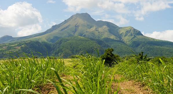 Martinique Mount Pelee