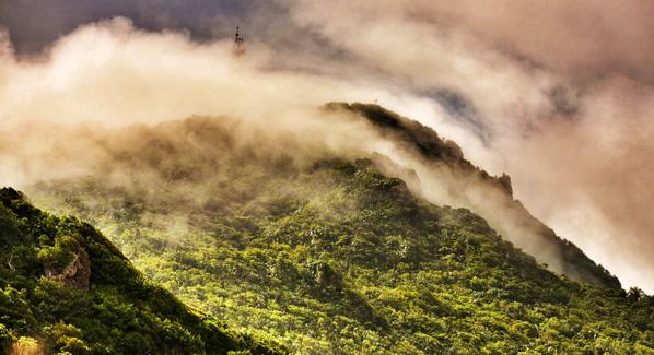 Saba Mountain Scenery