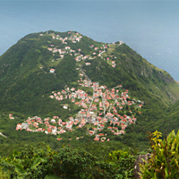 Hiking Saba