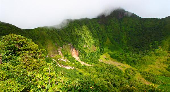 St. Kitts Mount Liamuiga