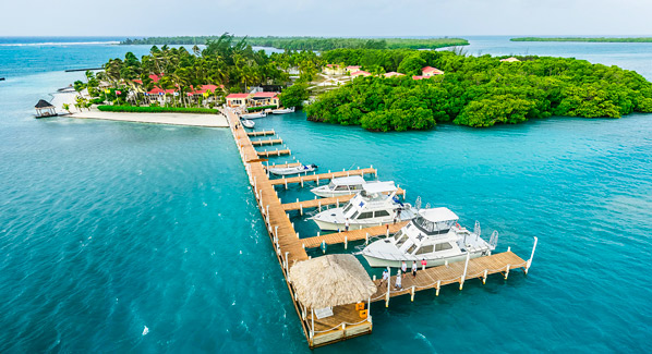 Dive Boats Turneffe Island Belize