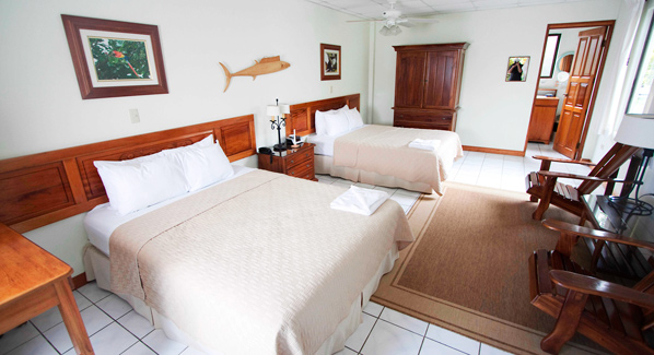 Rooms Crocodile Bay Costa Rica