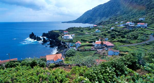 Azores Landscape & Village