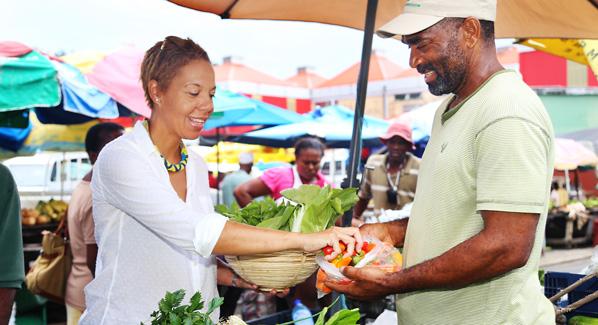 St. Lucia Market