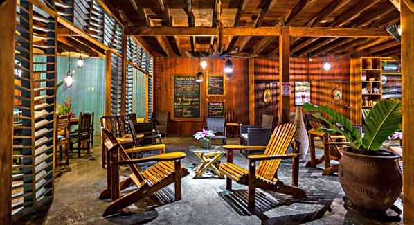 Viejo Hotel Costa Rica Lounge