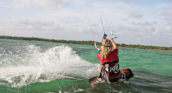 Grand Cayman Kite Surfing