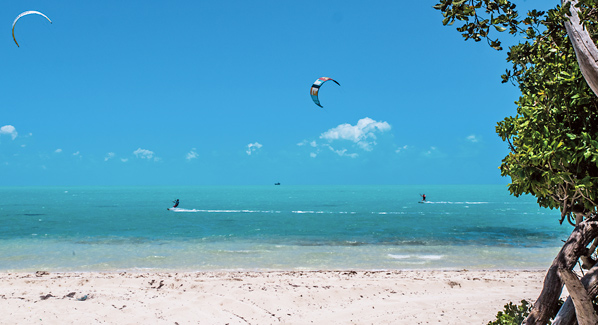 Turks and Caicos Providenciales Kite Boarding