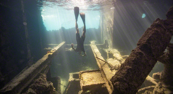 Sapona Shipwreck