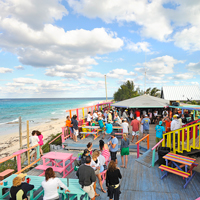 best beach bars in the bahamas, Nippers, Abacos, BahamasGuana-Cay
