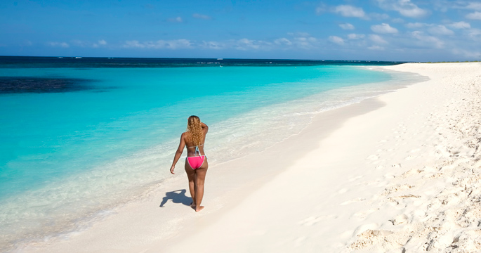 Two Miles In Length And Fringed With Perfect White Sand Shoal Bay Is Often Called Anguilla S Best Beach