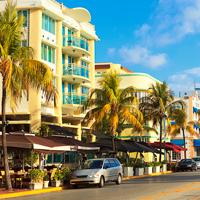 South Beach Ocean Drive, Miami, Florida