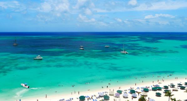 Aruba Palm Beach The Most Beautiful