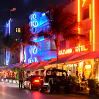 Ocean Drive, South Beach, Florida