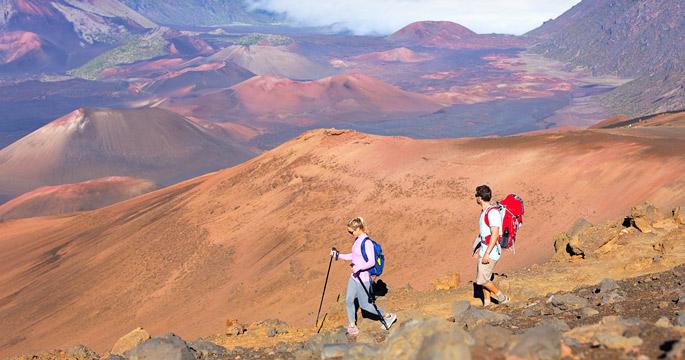Haleakala Crater 4-Mile Hike