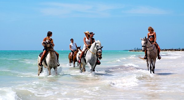Grand Bahama Island Horseback Riding In The Caribbean