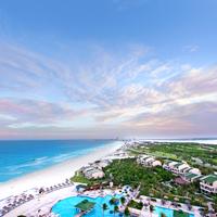 Mexico, Cancun, Aerial