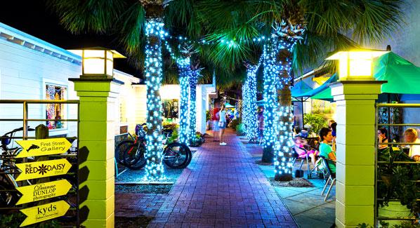 Florida Atlantic Beach Courtyard