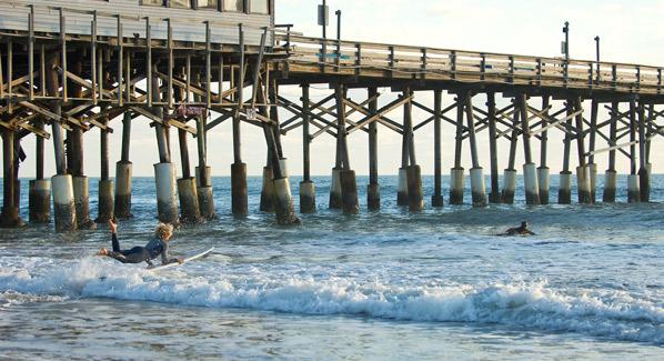 Cocoa Beach Pier, Florida