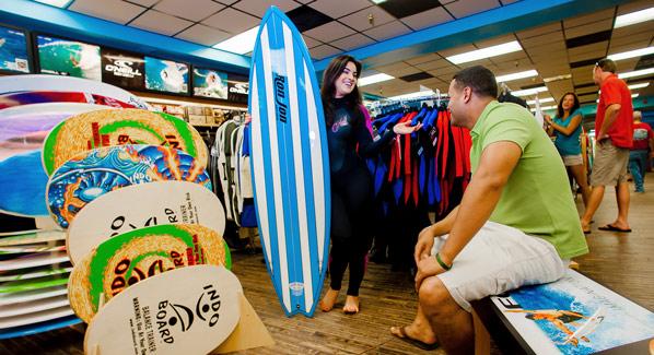 Ron John Surf Shop, Cocoa Beach, Florida