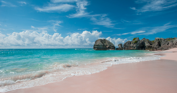 Rock Formations Are Commonplace Along The Network Of Pink Beaches That Line Southern S Bermuda