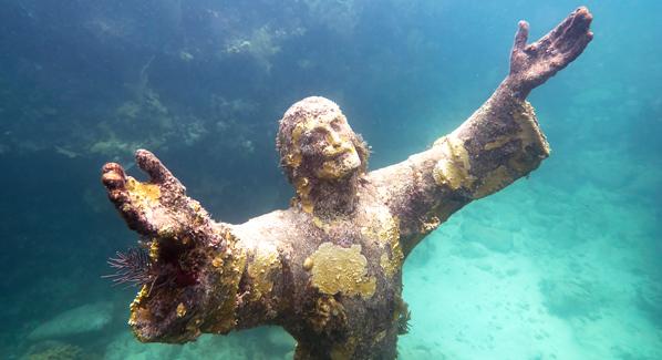 John Pennekamp Florida Keys Christ Statue Best Snorkel Sites In The