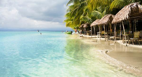 Bocas Del Toro Beach Huts