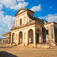 Cuba Trinidad Santisim Church