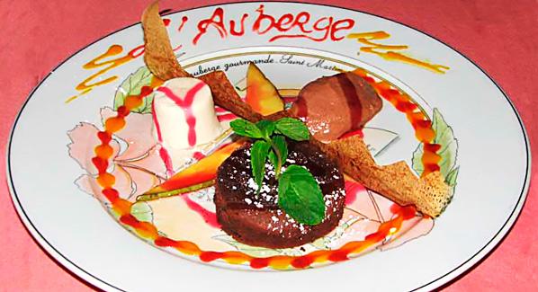 St Martin Lauberge Gourmande Dessert