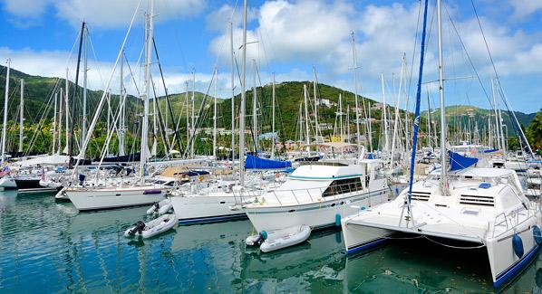 Sailboats BVI Tortola
