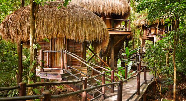 St Lucia Sugar Beach Spa Exterior